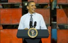 Le président Obama visite Master Lock