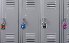 Combination Padlocks: Lockers with locks
