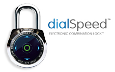 Combination Padlocks: dialSpeed