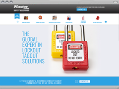Microsite : Safety Solutions™ de Master Lock®