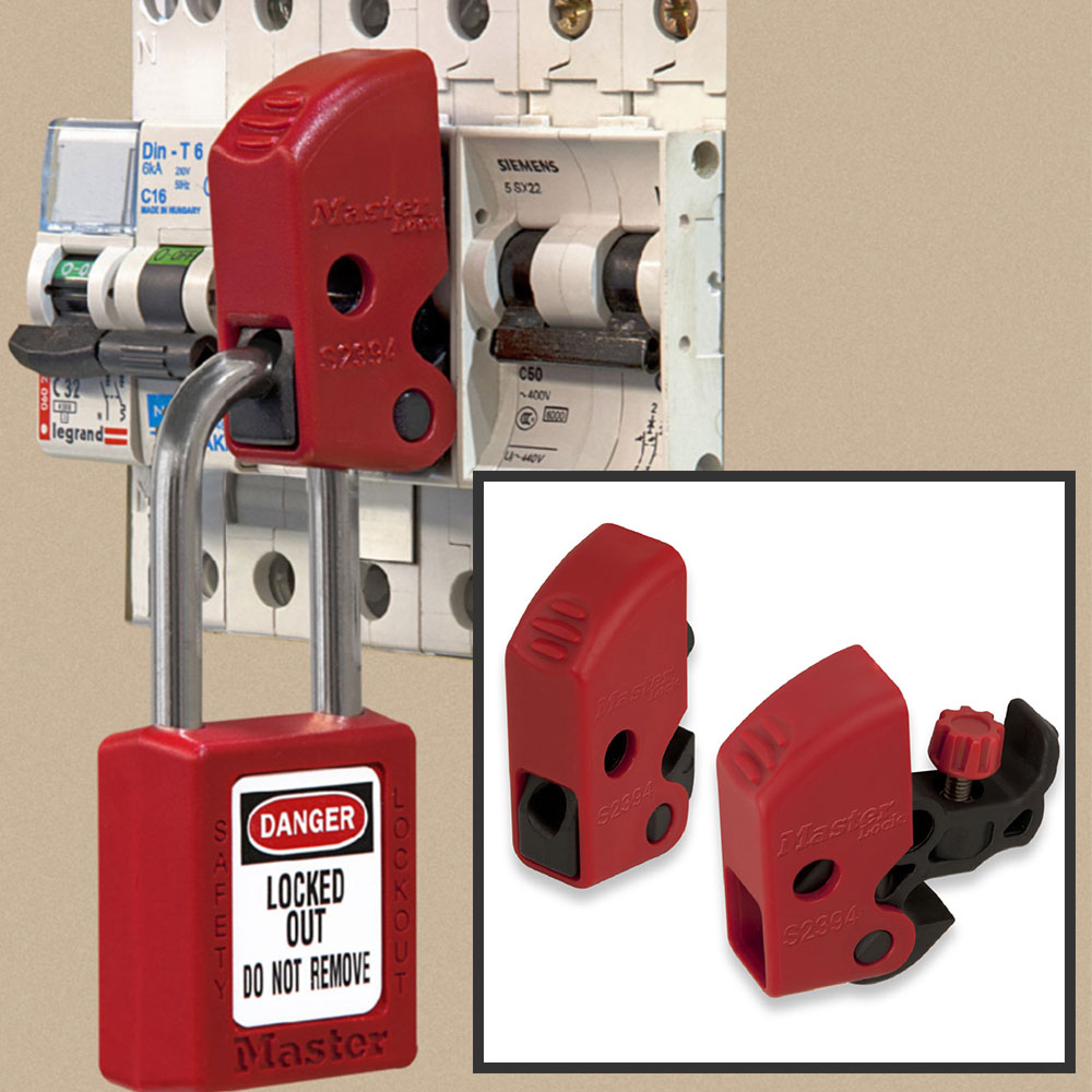 Model No S2394 Electrical Lockout Master Lock Circuit Breakers