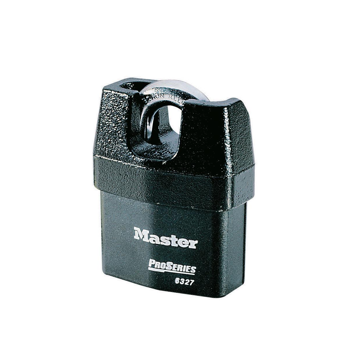 Master Lock M15BEURDLF Cadenas ext/érieur /à cl/é avec Protection ext/érieure Haute s/écurit/é 64 mm