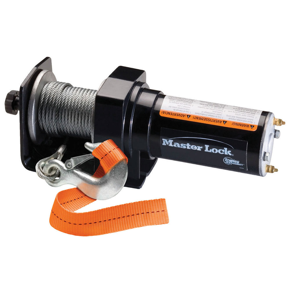 model no 2955at master lock rh masterlock com ATV Winch Solenoid Wiring Diagram Winch Solenoid Wiring Diagram