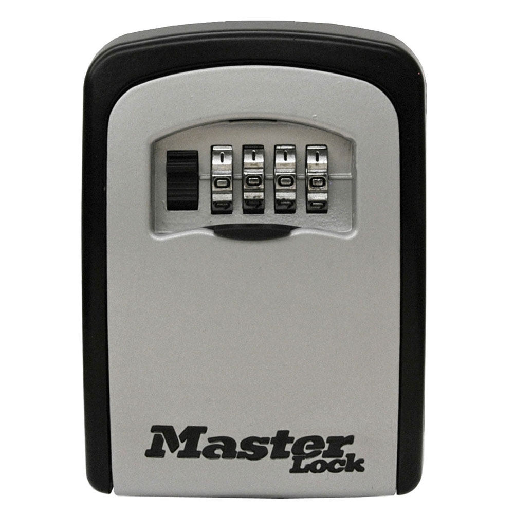Combination Safe Space Portable Storage Security Travel Up-Down Lock Box Black .