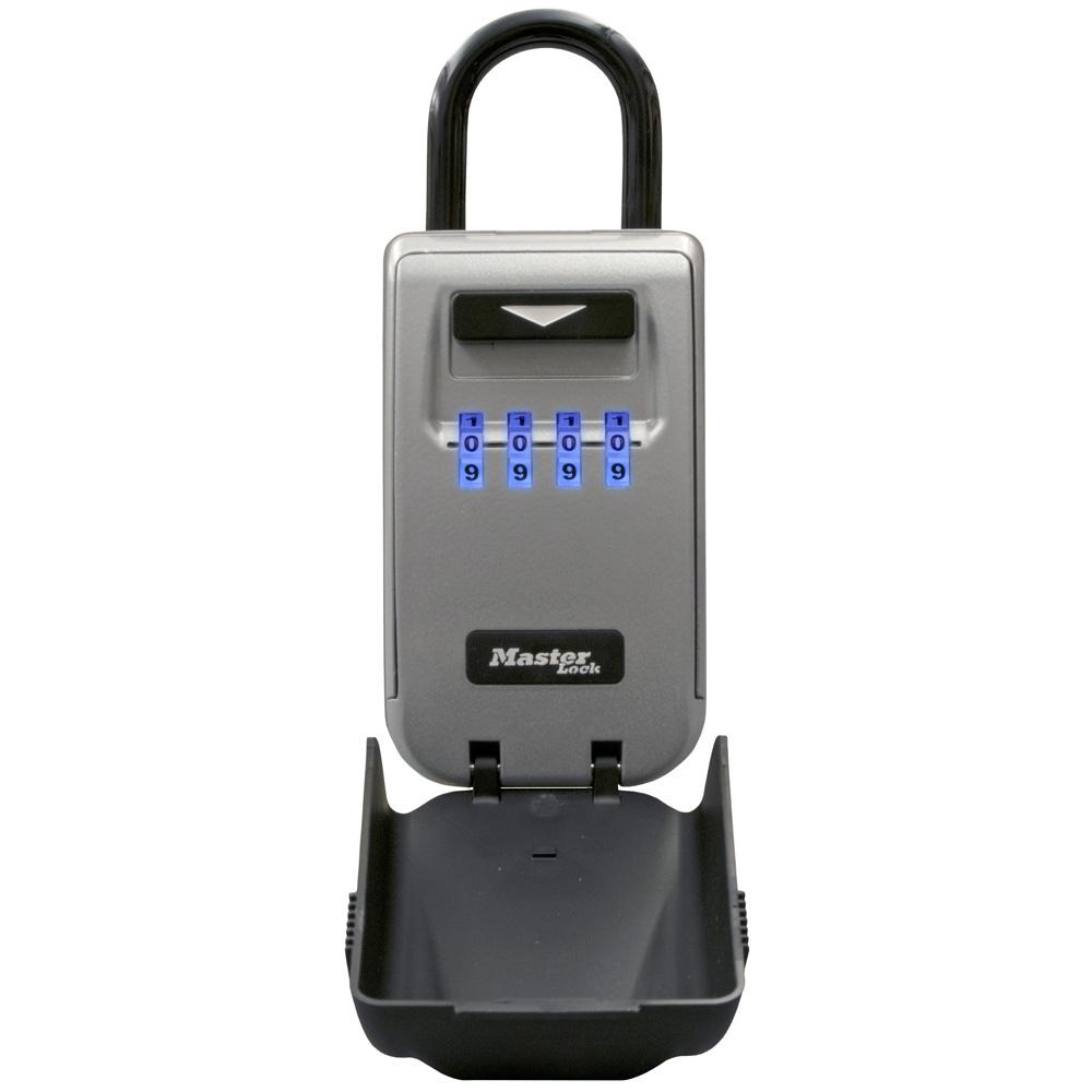 Master Lock Bike Lock 4 Dial Black Carded