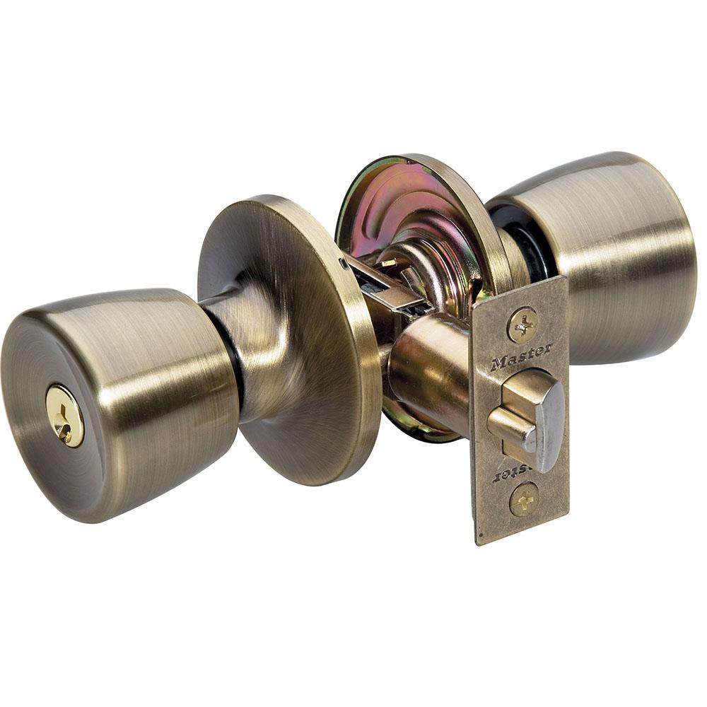 front door knob lock. Model No. TUO0105 Front Door Knob Lock