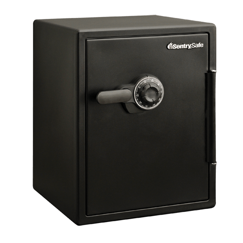 combination fire water safe sfw205cwb sentrysafe rh sentrysafe com Proof Box Combination Sentry 3100