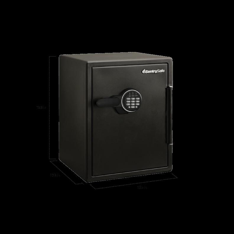 Digital Firewater Safe Sfw205evb Sentrysafe